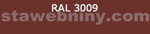 Klempířský prvek - Žlabový hák 330mm opláštěný barevný pozink - červenohnědá RAL 3009