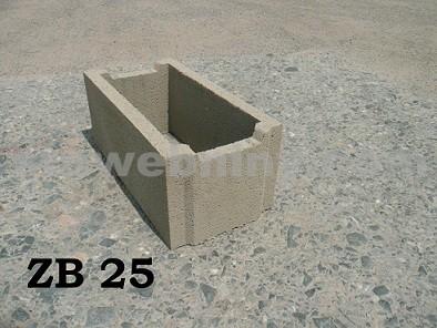 BOHEMIA BLOCK Ztracené bednění ZB - 25