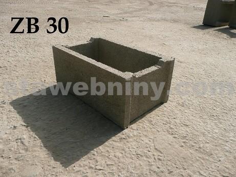BOHEMIA BLOCK Ztracené bednění ZB - 30