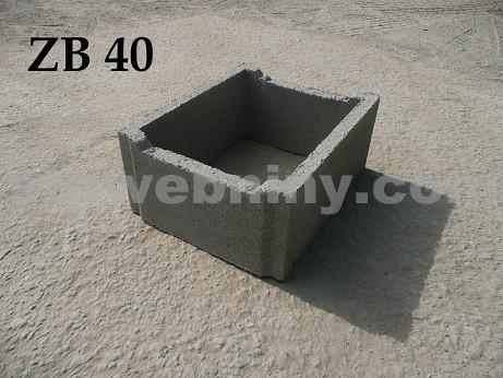 BOHEMIA BLOCK Ztracené bednění ZB - 40