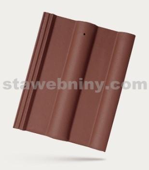 BRAMAC CLASSIC - betonová taška základní 1/1 - červenohnědá