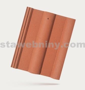 BRAMAC CLASSIC PROTECTOR - betonová taška základní 1/1 - cihlově červená