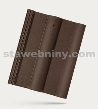 BRAMAC CLASSIC PROTECTOR - betonová taška základní 1/1 - tmavohnědá