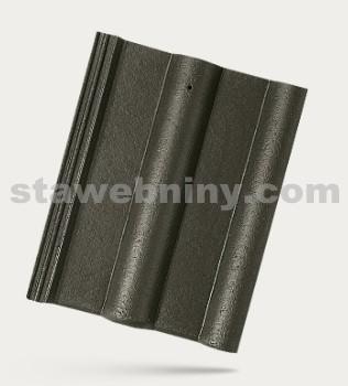 BRAMAC CLASSIC PROTECTOR - betonová taška základní 1/1 - tmavě zelená