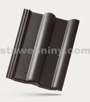 BRAMAC CLASSIC STAR - betonová taška základní 1/1 - černá