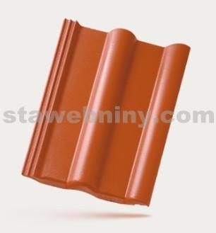 BRAMAC CLASSIC STAR - betonová taška základní 1/1 - cihlově červená