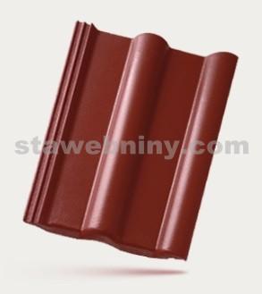 BRAMAC CLASSIC STAR - betonová taška základní 1/1 - červenohnědá