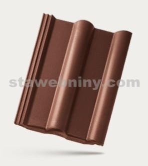 BRAMAC CLASSIC STAR - betonová taška základní 1/1 - tmavě hnědá