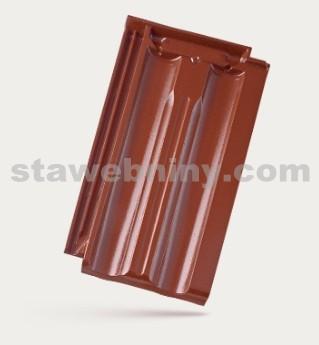 BRAMAC Granát 11 taška základní 1/1 - kaštanově hnědá glazura
