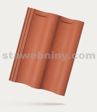 BRAMAC MAX 7 - betonová taška základní 1/1 - cihlově červená