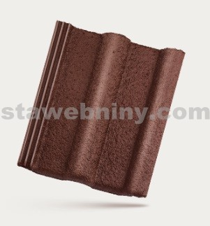 BRAMAC MONTERO - betonová taška základní 1/1 - bordeaux