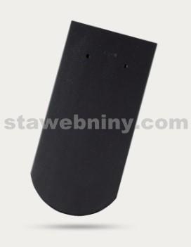 BRAMAC Opál taška základní 1/1 - antracitová engoba