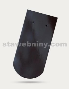 BRAMAC Opál taška základní 1/1 - černá glazura