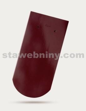 BRAMAC Opál taška základní 1/1 - červenohnědá hnědá glazura