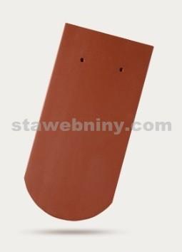 BRAMAC Opál taška základní 1/1 - měděná engoba