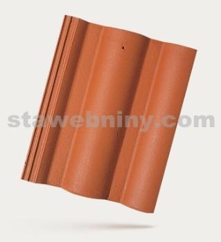 BRAMAC ŘÍMSKÁ TAŠKA - betonová taška základní 1/1 - cihlově červená