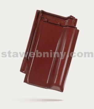 BRAMAC Rubín 13 taška základní 1/1 - červenohnědá glazura