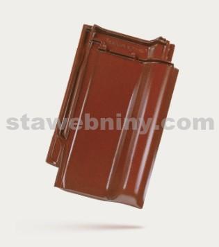 BRAMAC Rubín 13 taška základní 1/1 - kaštanově hnědá glazura