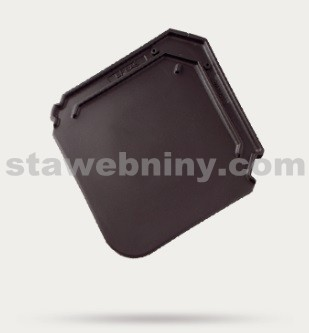 BRAMAC Smaragd taška základní 1/1 - antracitové engoba