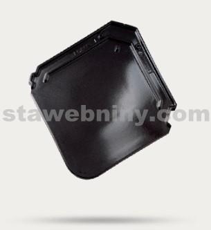 BRAMAC Smaragd taška základní 1/1 - ebenově černá glazura TOP LINE