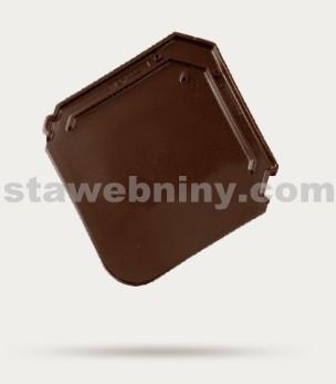 BRAMAC Smaragd taška základní 1/1 - tmavohnědá glazura
