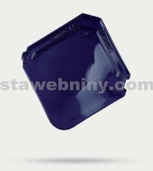 BRAMAC Smaragd taška základní 1/1 - tmavomodrá glazura TOP LINE