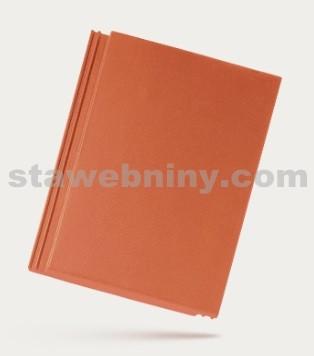 BRAMAC TEGALIT - betonová taška základní 1/1 - cihlově červená