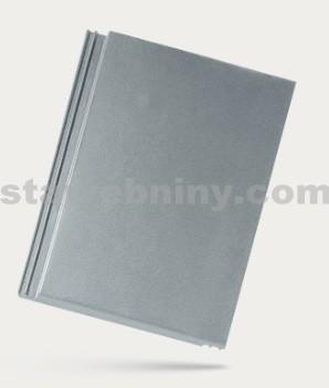 BRAMAC TEGALIT - betonová taška základní 1/1 - zinkově šedá