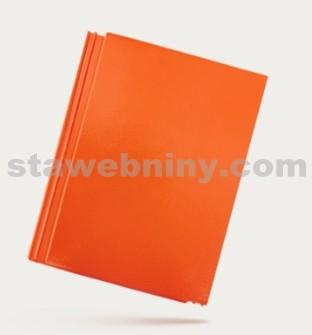 BRAMAC TEGALIT STAR - betonová taška základní 1/1 - cihlově červená