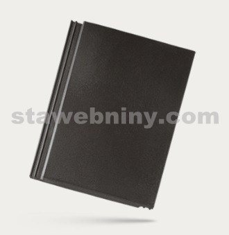 BRAMAC TEGALIT STAR - betonová taška základní 1/1 - ebenově černá
