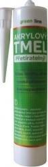 DEN BRAVEN Akrylový tmel 310ml bílý GREEN LINE
