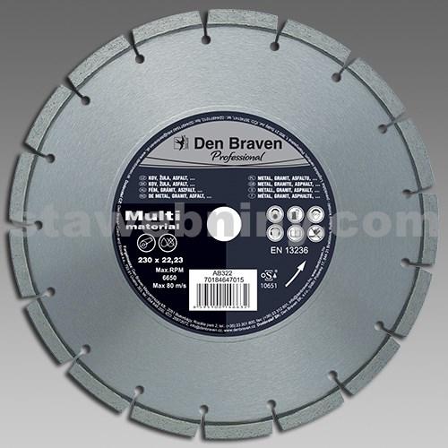 DEN BRAVEN DIA kotouč řezný PROFI MULTIMAT 125mm