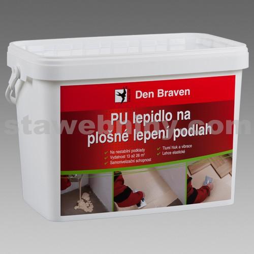 DEN BRAVEN PU lepidlo na plošné lepení podlah (Polyflex parket SPS) 15kg