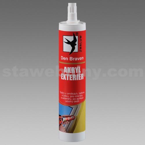 DEN BRAVEN Akrylový tmel 310ml bílý RL
