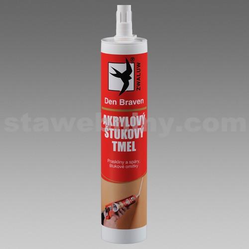 DEN BRAVEN Akrylový štukový tmel 310ml bílý RL