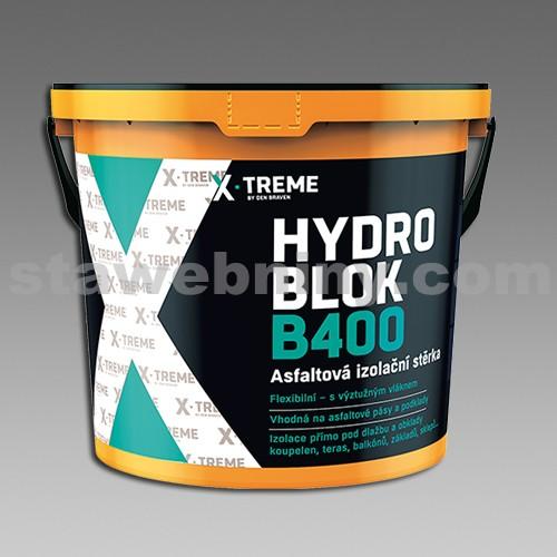 DEN BRAVEN Asfaltová izolační stěrka HYDRO BLOK B400 10kg