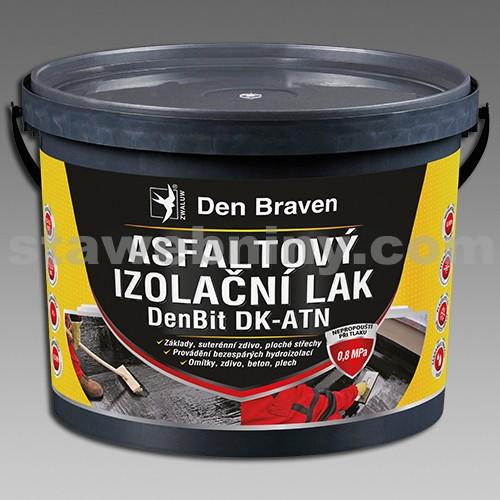 DEN BRAVEN Asfaltový izolační lak DenBit DK - ATN 9kg - vědro