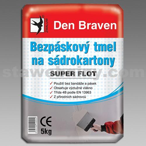 DEN BRAVEN Bezpáskový tmel na sádrokartony SUPER FLOT 5kg