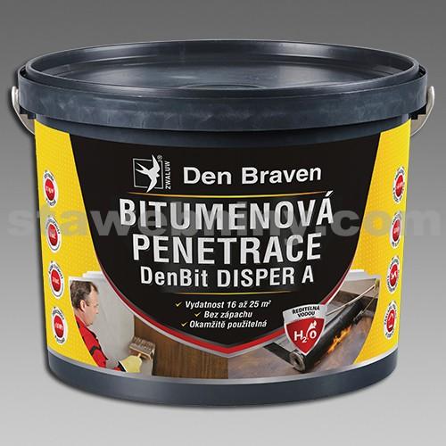 DEN BRAVEN Bitumenová penetrace DenBit DISPER A 5kg kbelík
