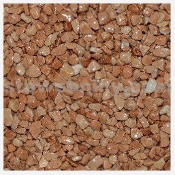 DEN BRAVEN Kamenný koberec PerfectSTONE mramorové kamínky pytel 25kg cihl. červená 3-6mm