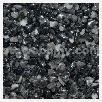DEN BRAVEN Kamenný koberec PerfectSTONE mramorové kamínky pytel 25kg antracit 3-6mm