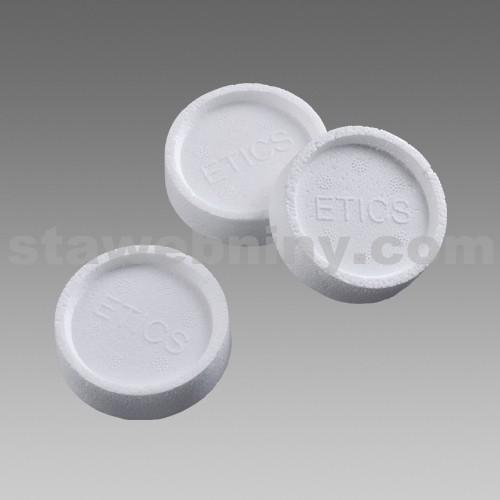 DEN BRAVEN Polystyrenová zátka EPS průměr 70mm, tl. 1,5cm, barva šedá
