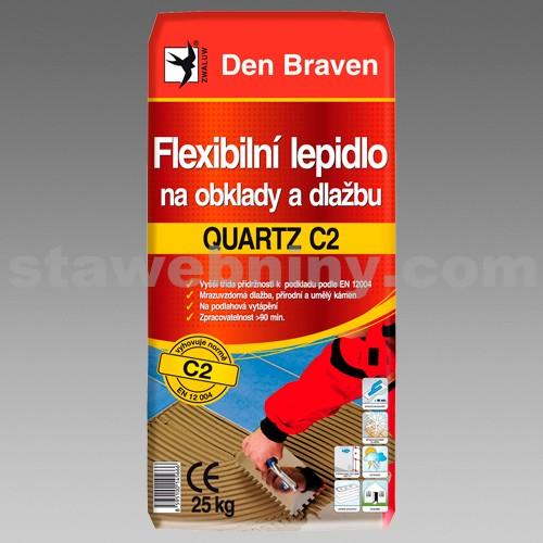 DEN BRAVEN FX flexi lepidlo na obklady a dlažbu QUARTZ C2 25kg šedá