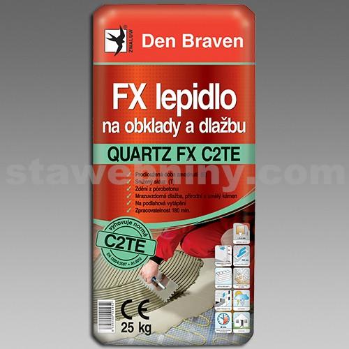 DEN BRAVEN FX flexi lepidlo na obklady a dlažbu QUARTZ FX C2TE 7kg šedá
