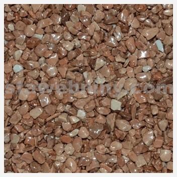 DEN BRAVEN Kamenný koberec PerfectSTONE mramorové kamínky pytel 25kg hnědá 3-6mm