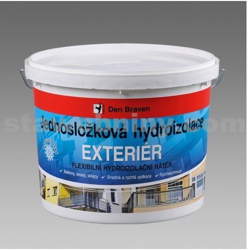 DEN BRAVEN Jednosložková hydroizolace EXTERIÉR 5kg