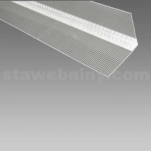 DEN BRAVEN Kombi lišta rohová (PLAST) s tkaninou 10/10cm*2,5m