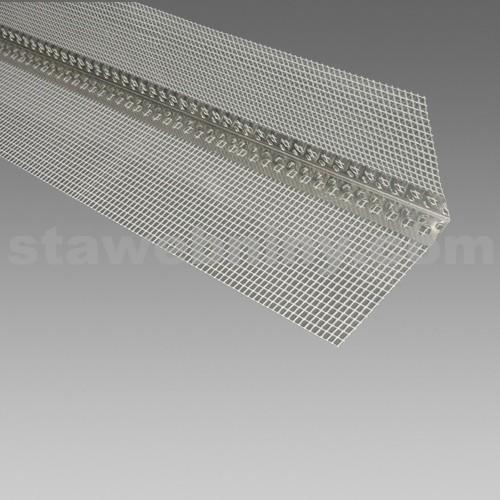 DEN BRAVEN Kombi lišta rohová (AL) s tkaninou 10/10cm*2,5m