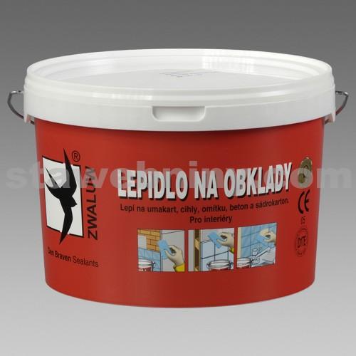 DEN BRAVEN Lepidlo na obklady 5kg - kbelík bílý