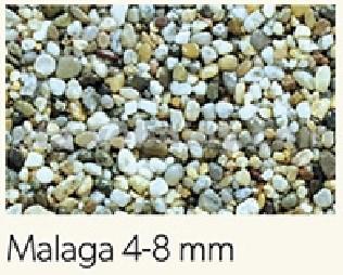 DEN BRAVEN Kamenný koberec PerfectSTONE říční kamínky pytel 25kg Oblý 4-8mm
